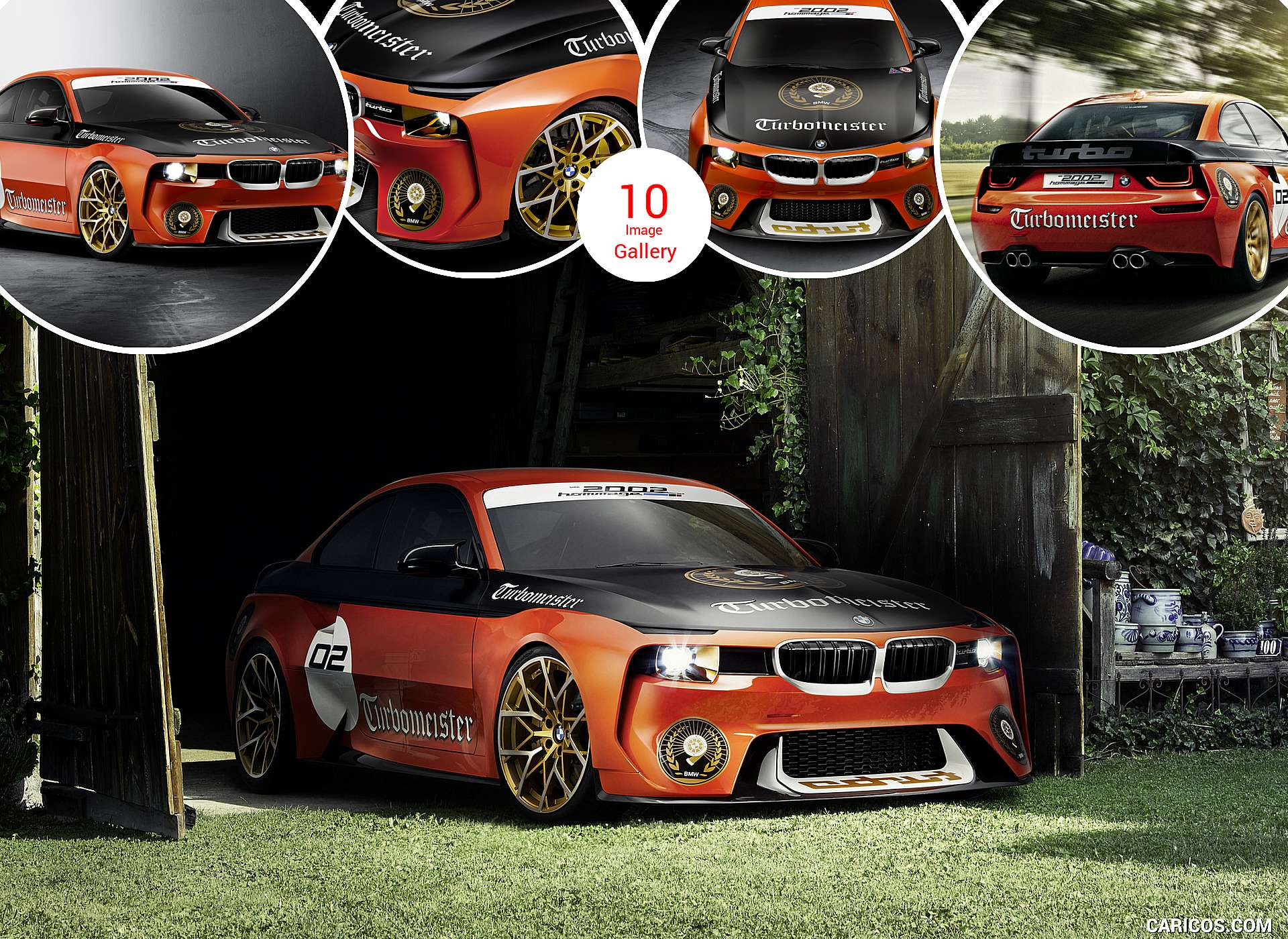 2016 BMW 2002 Hommage at Concours d'Elegance