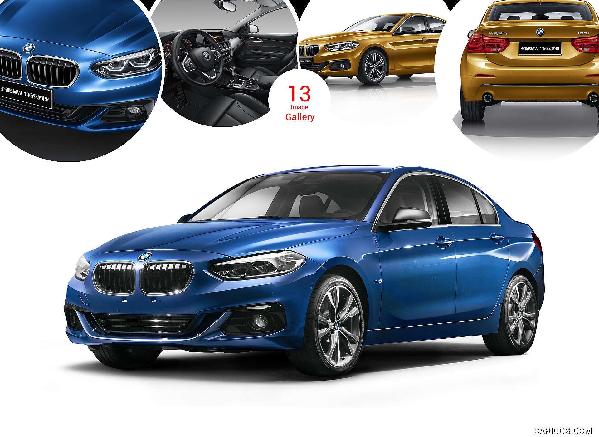 2017 BMW 1-Series Sedan (China-Spec)