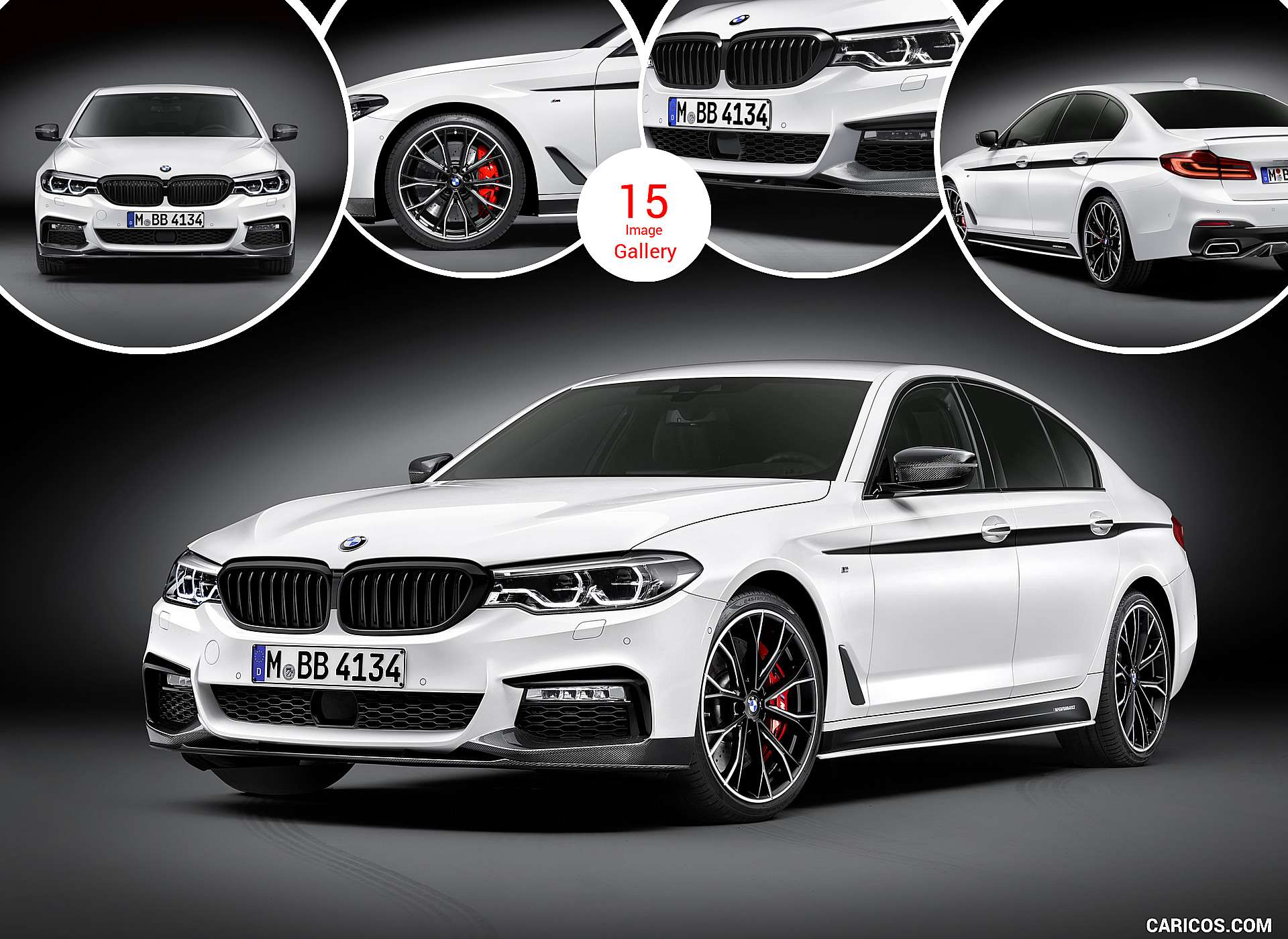 2017 BMW 5 Series with M Performance Parts