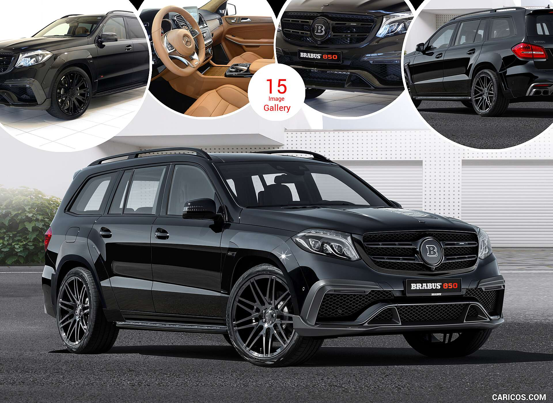 2017 Brabus 850 Xl Widestar Based On Widebody Mercedes Benz Gls 63