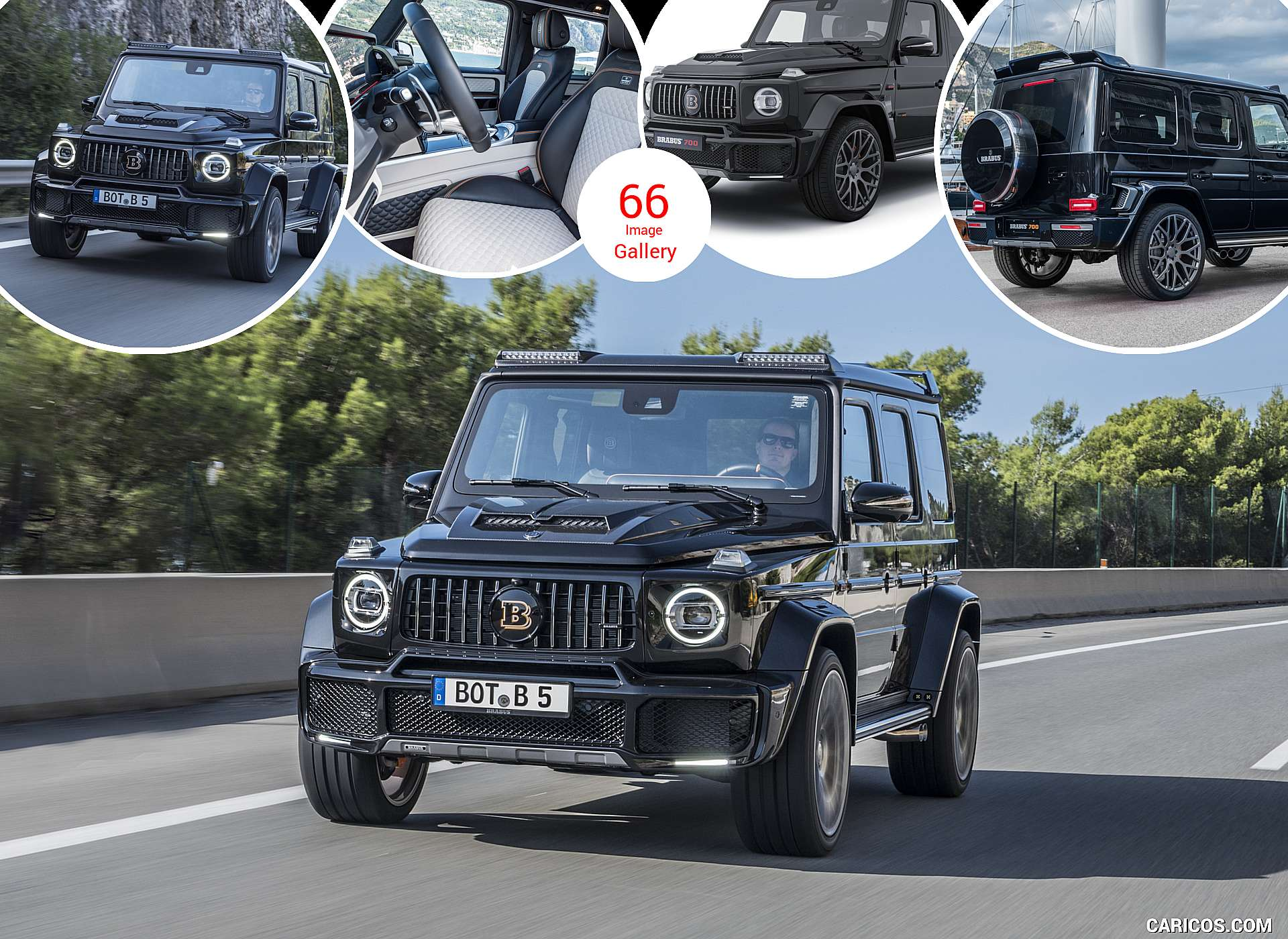2019 BRABUS 700 Widestar based on Mercedes-AMG G 63