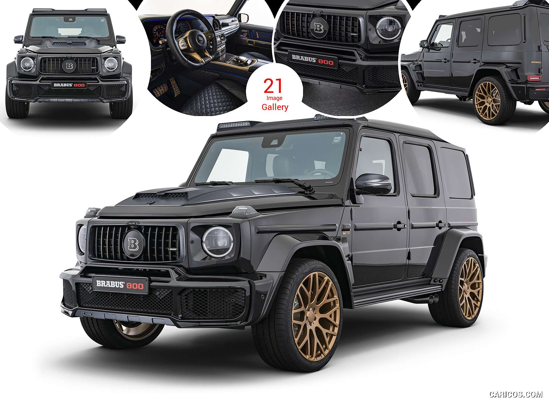 2020 BRABUS 800 BLACK and GOLD EDITION