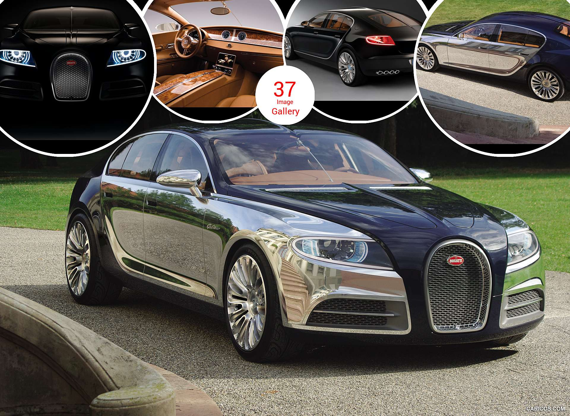 2009 bugatti 16c galibier concept. Black Bedroom Furniture Sets. Home Design Ideas