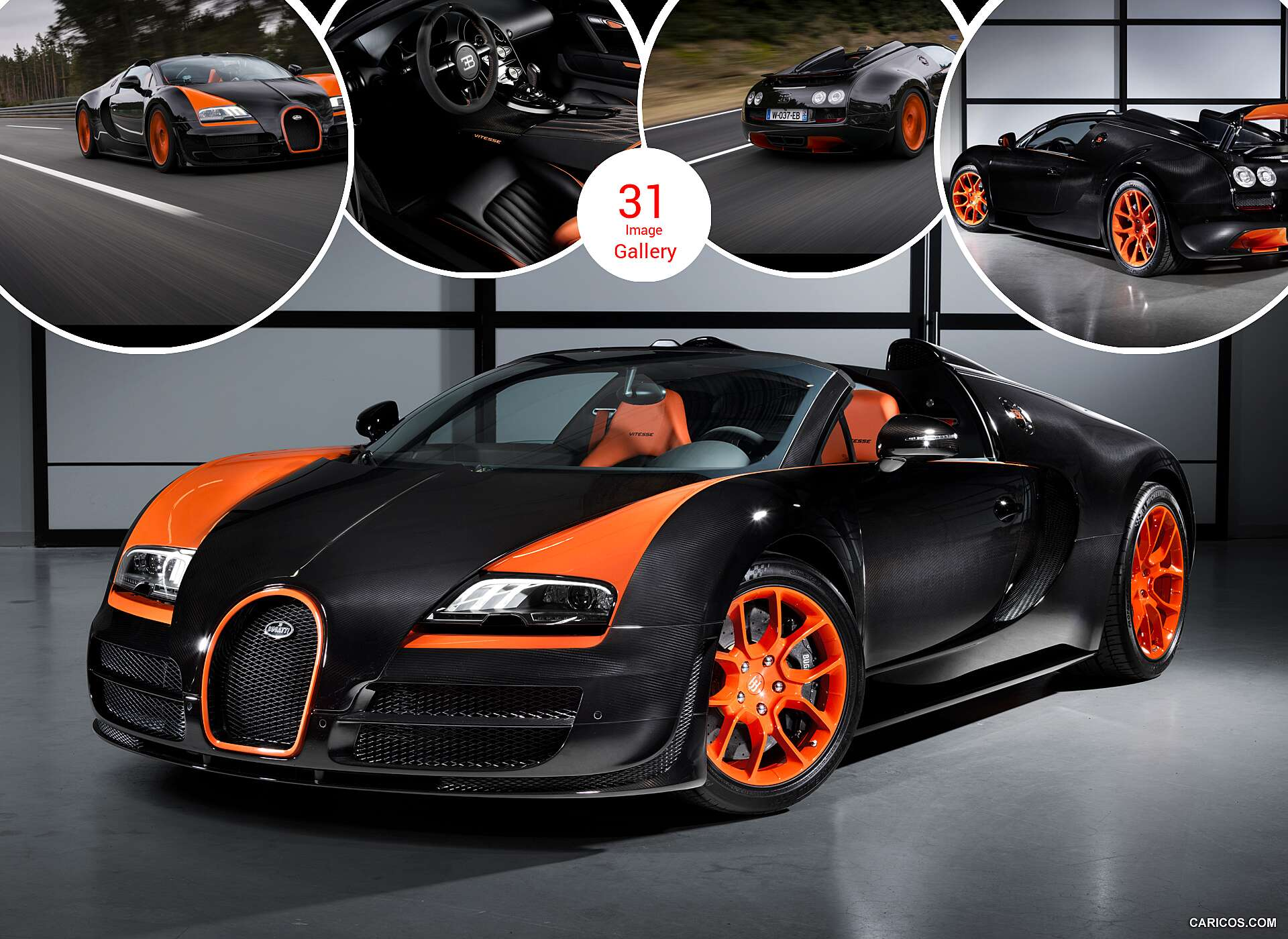 2013 bugatti veyron 16 4 grand sport vitesse world record. Black Bedroom Furniture Sets. Home Design Ideas