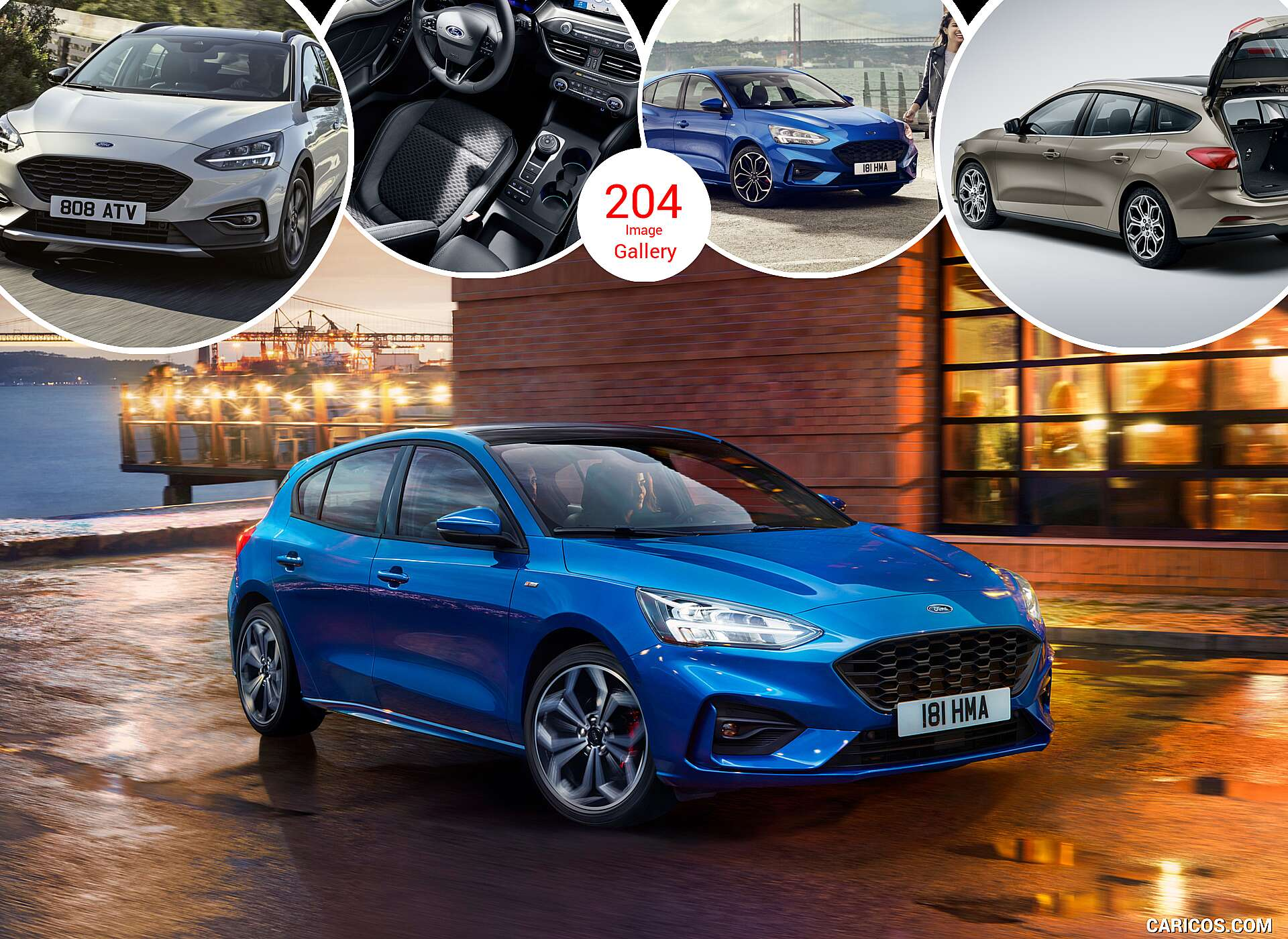 2019 Ford Focus Hatchback, Wagon, and Active (Euro-Spec)