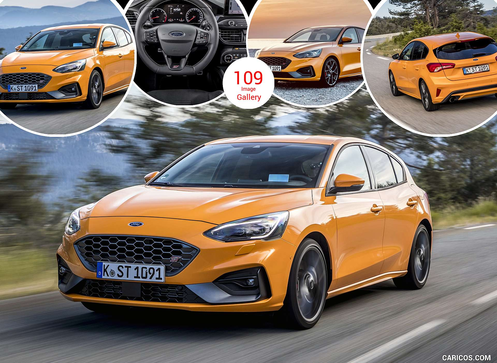 2019 Ford Focus ST (Euro-Spec)