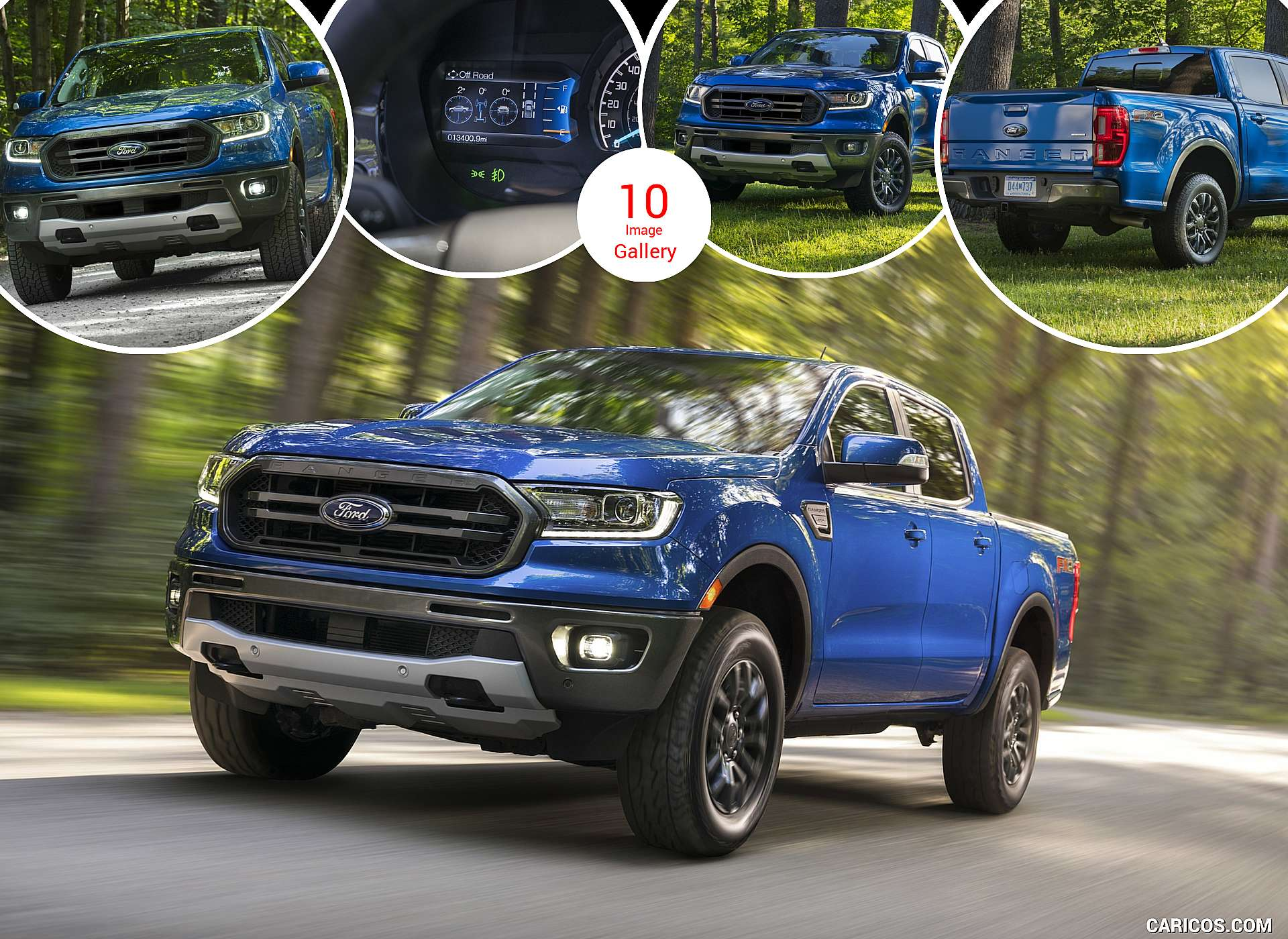 2020 Ford Ranger with FX2 Package