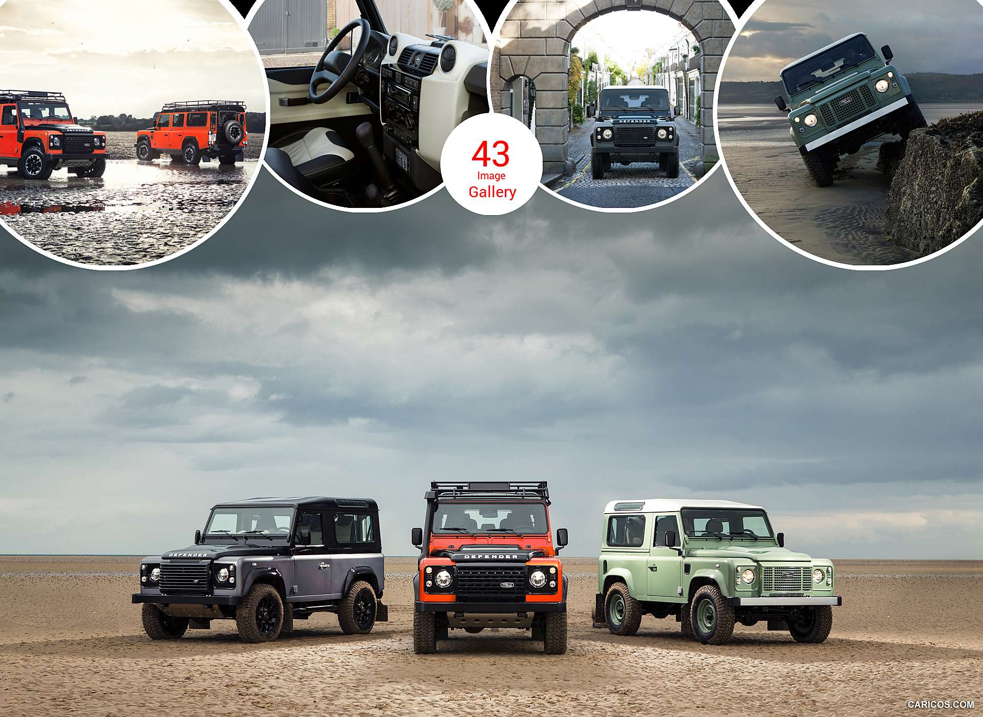 2015 Land Rover Defender Limited Editions