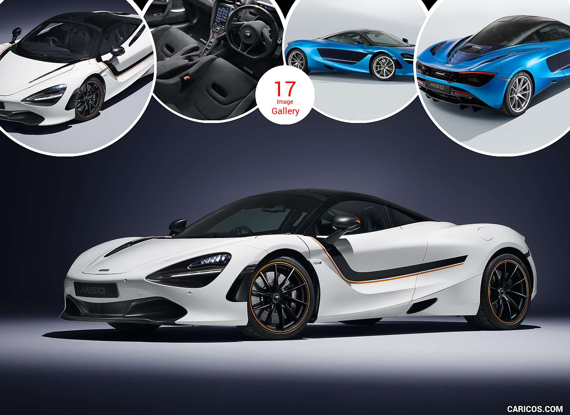 2018 McLaren 720S Track Theme and Pacific Theme by MSO