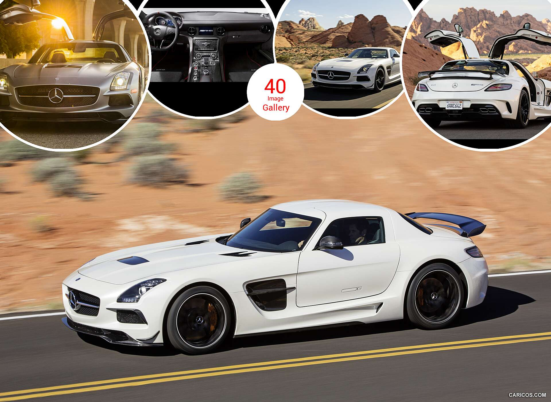 Sls Black Series >> 2014 Mercedes Benz Sls Amg Coupe Black Series Caricos Com