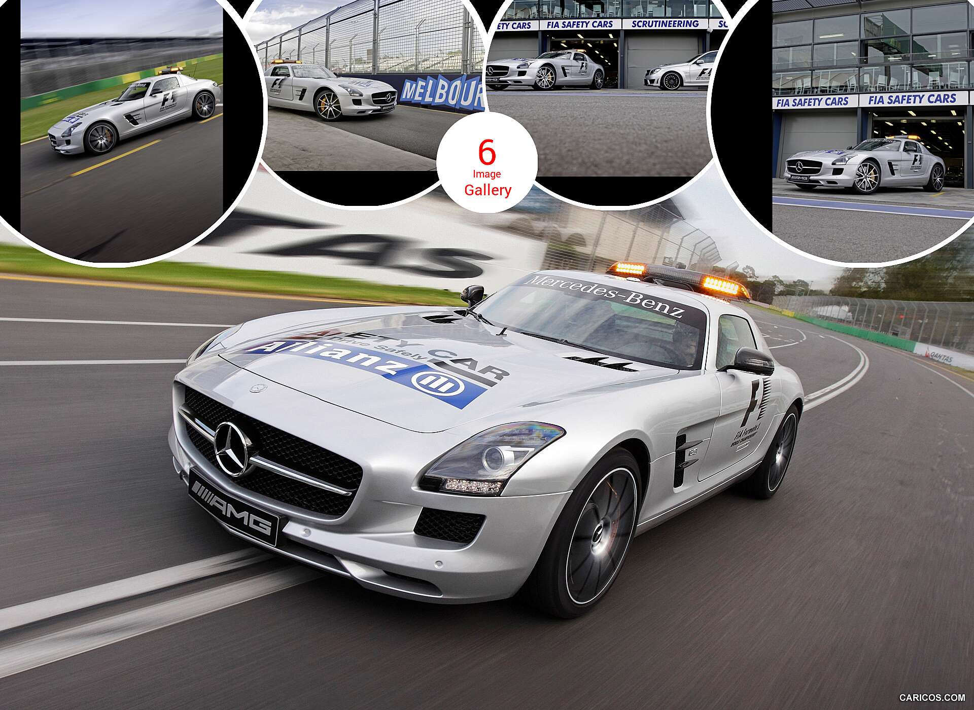 2013 mercedes benz sls amg gt f1 safety car for Mercedes benz f1