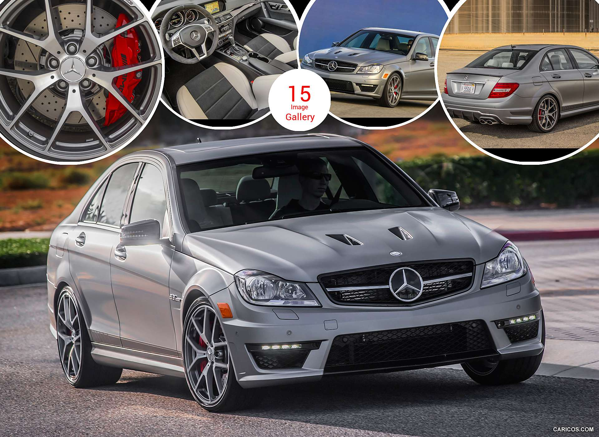 2014 Mercedes-Benz C 63 AMG Edition 507 (US Version)