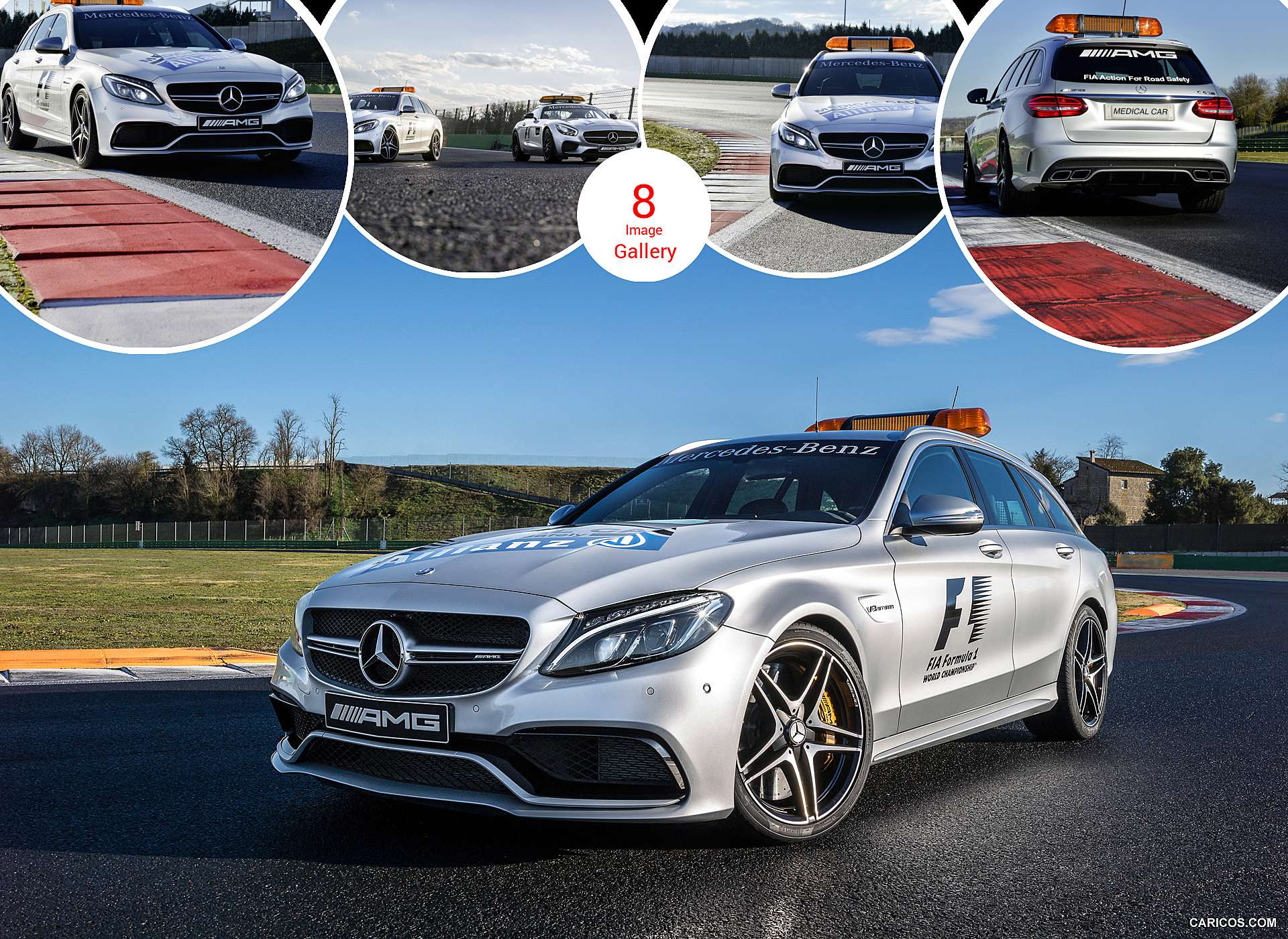 2015 Mercedes-AMG C63 S Estate F1 Medical Car