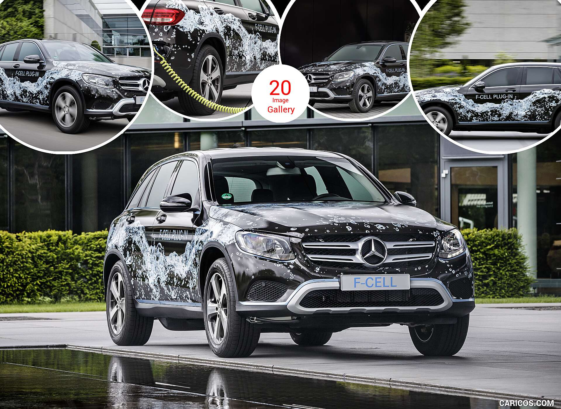 2016 Mercedes-Benz GLC F-Cell Plug-In Concept