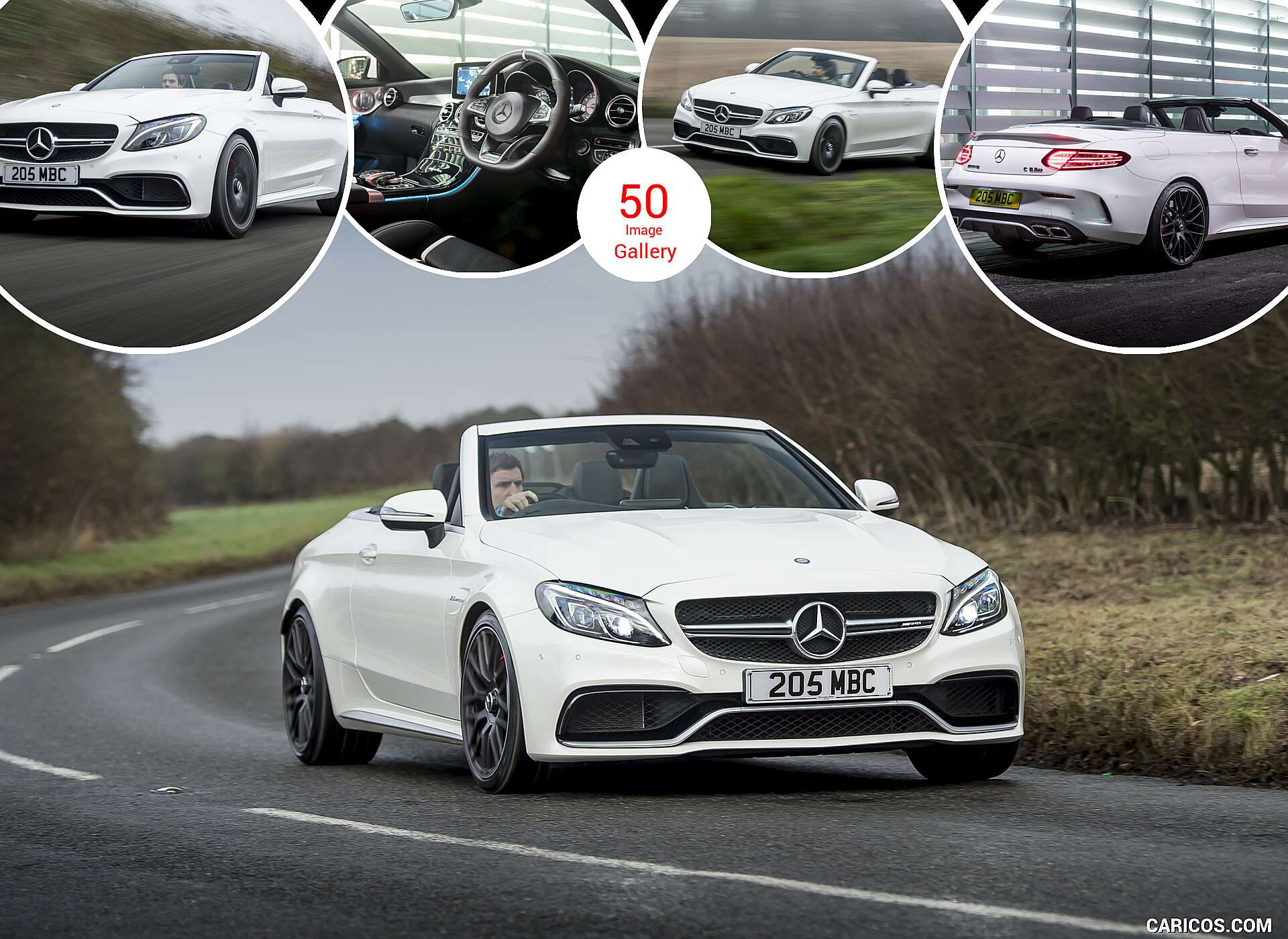 2017 Mercedes-AMG C63 S Cabriolet (UK-Spec)