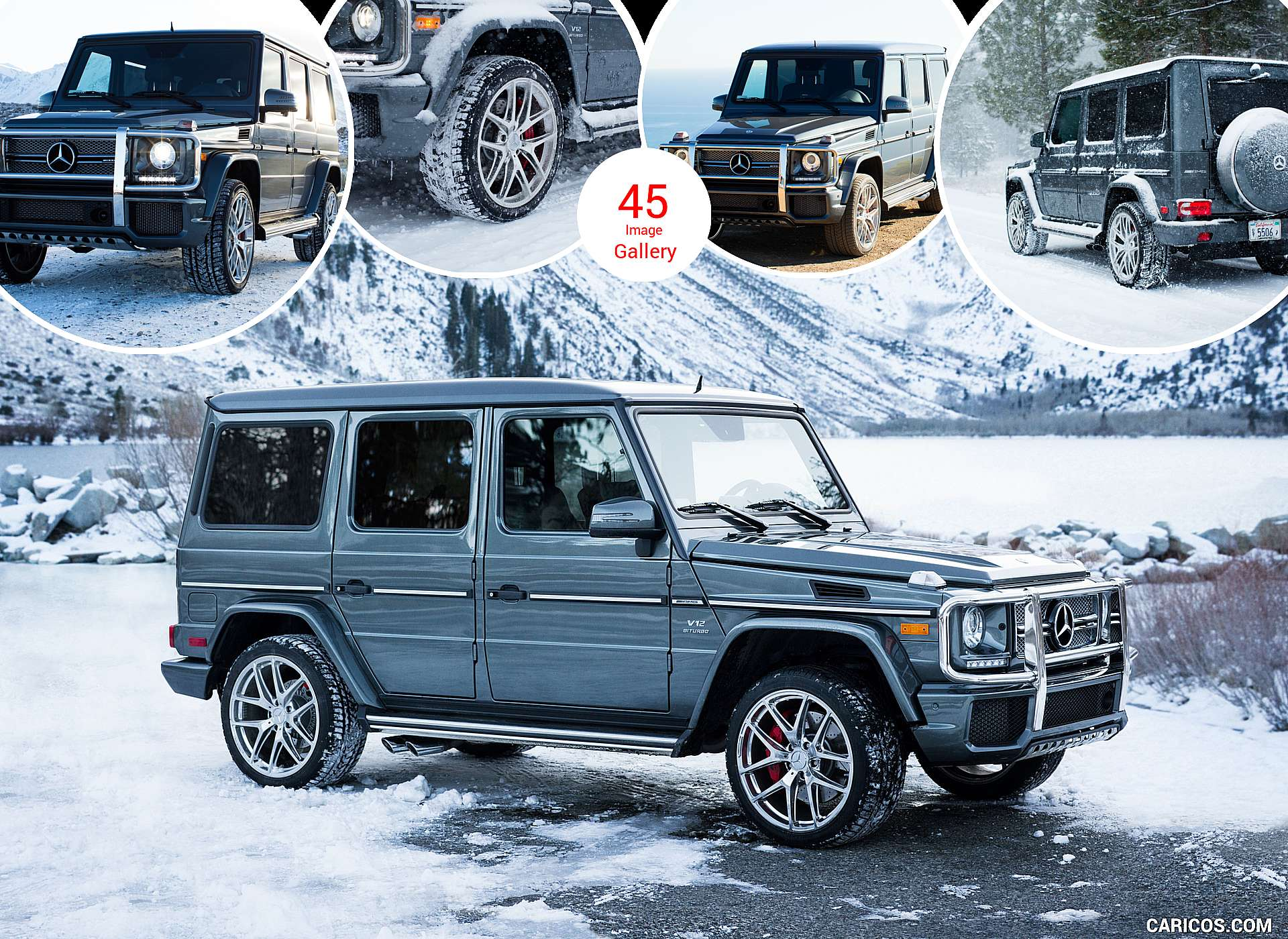 2017 Mercedes-AMG G65 AMG (US-Spec)