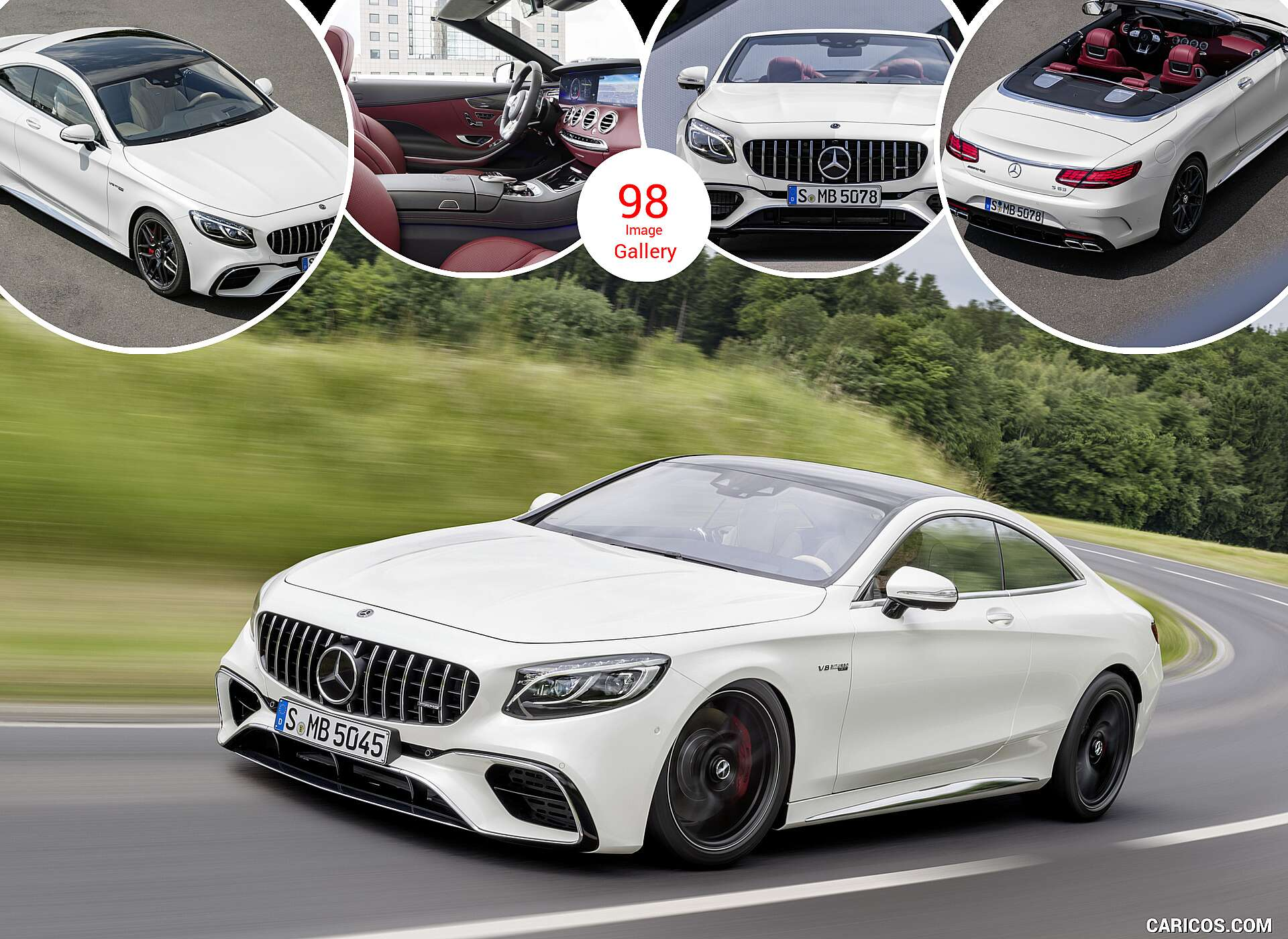 S63 Amg Coupe >> 2018 Mercedes Amg S63 Coupe And Cabriolet Caricos Com