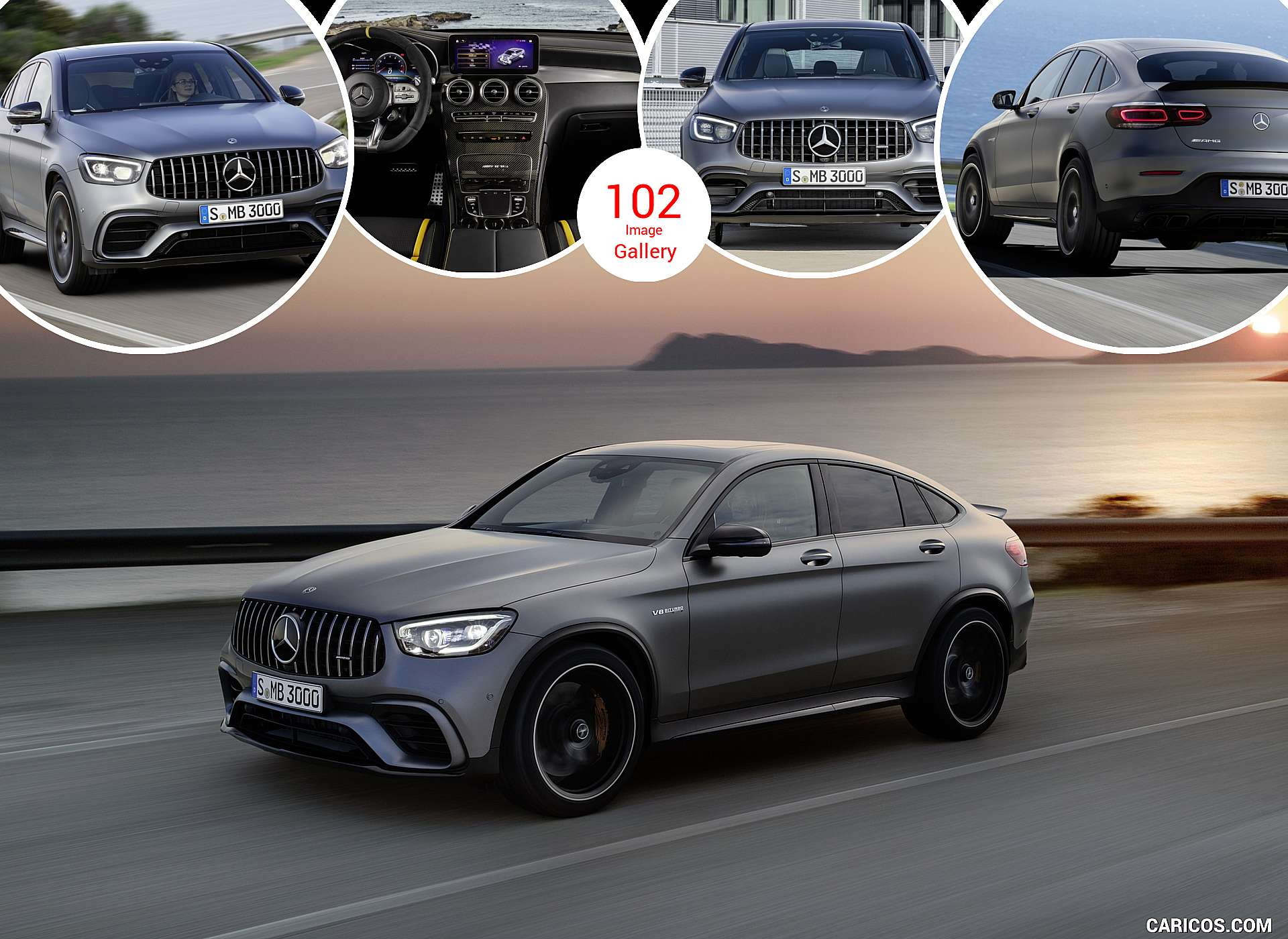 2020 Mercedes-AMG GLC 63 Coupe