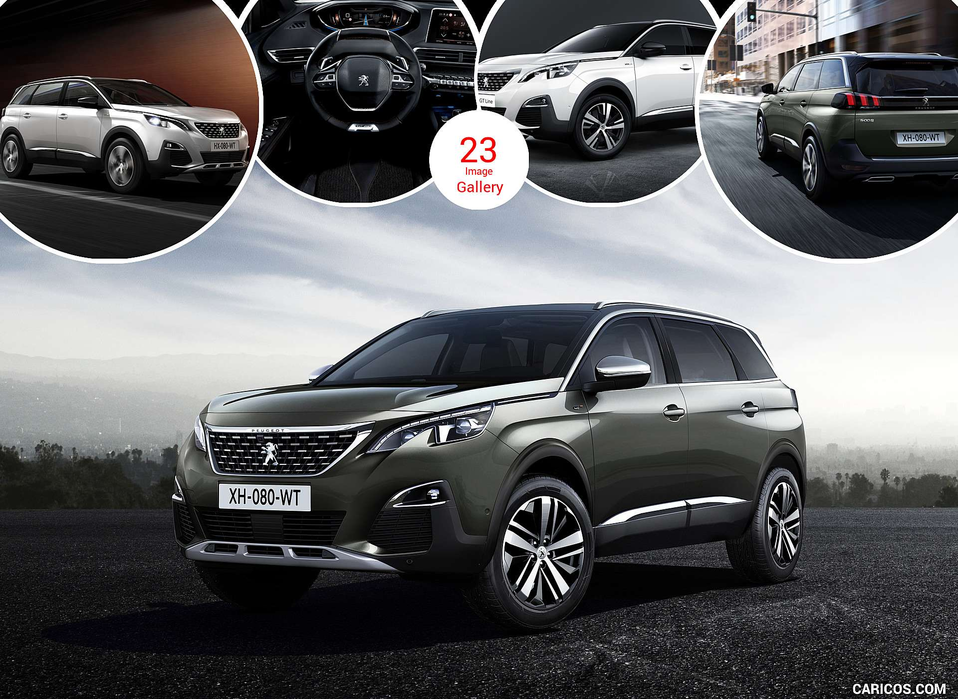2017 Peugeot 5008 GT and GT Line