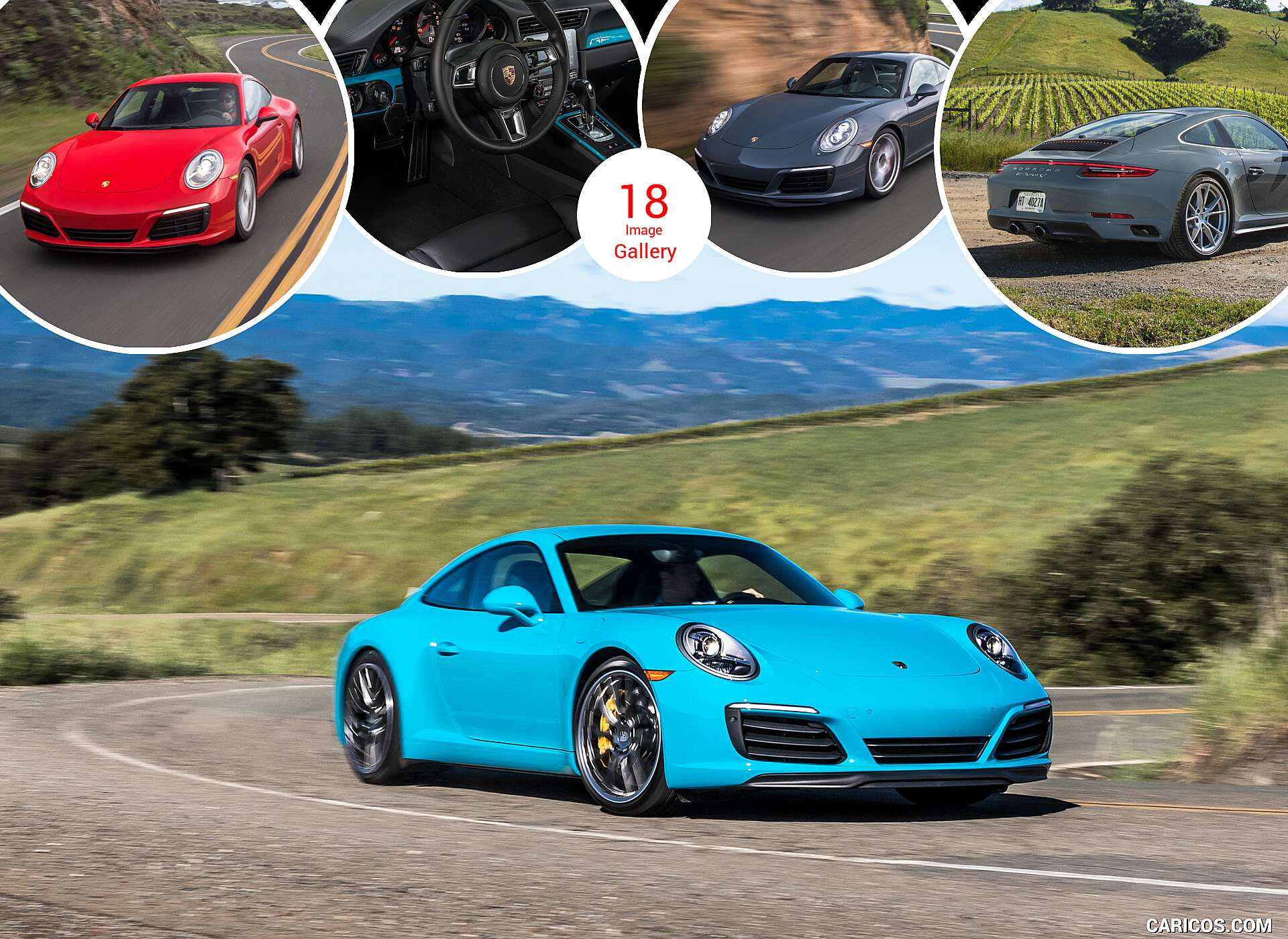 2017 Porsche 911 Carrera and Carrera S (US-Spec)