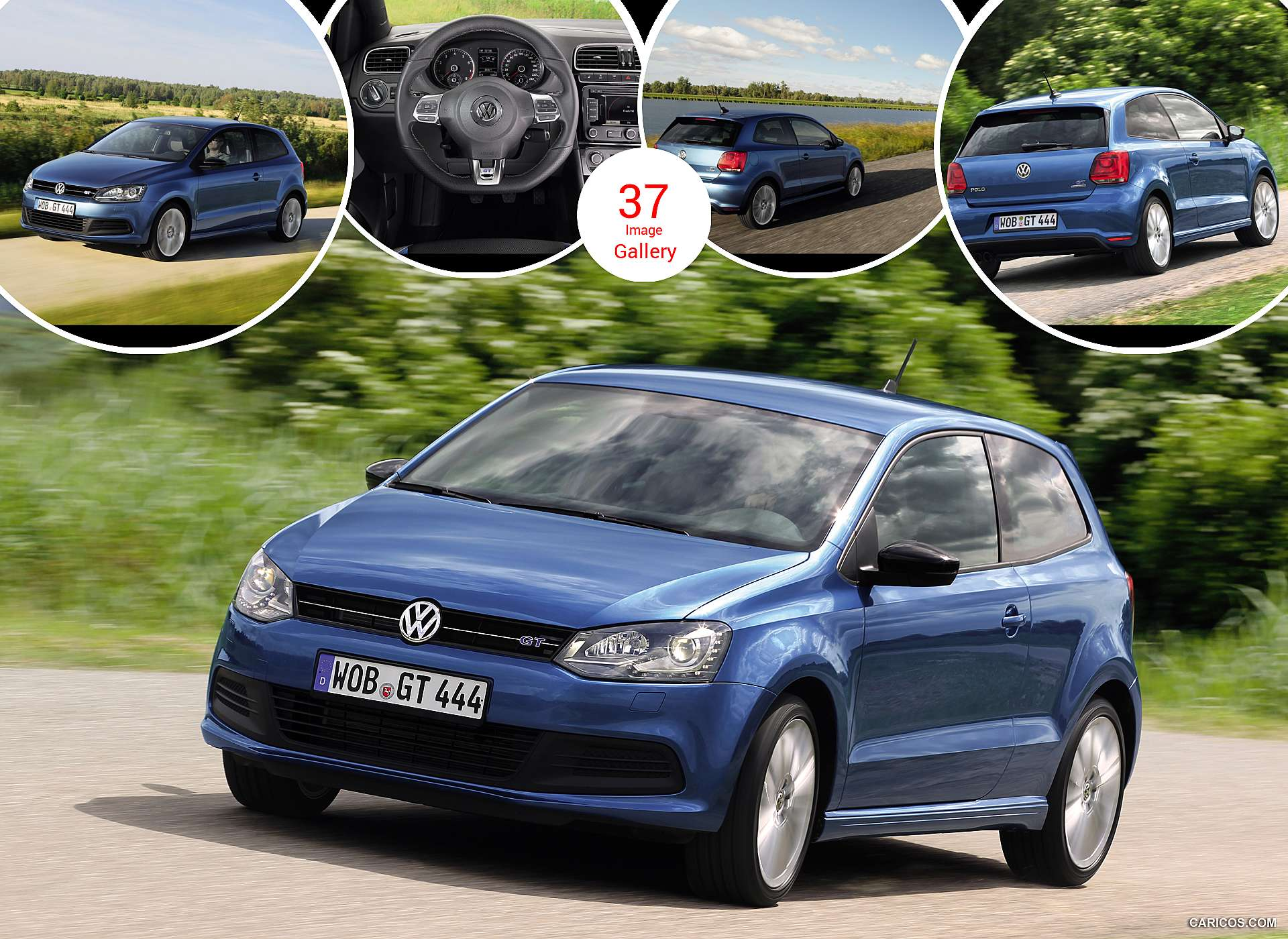 2013 Volkswagen Polo BlueGT