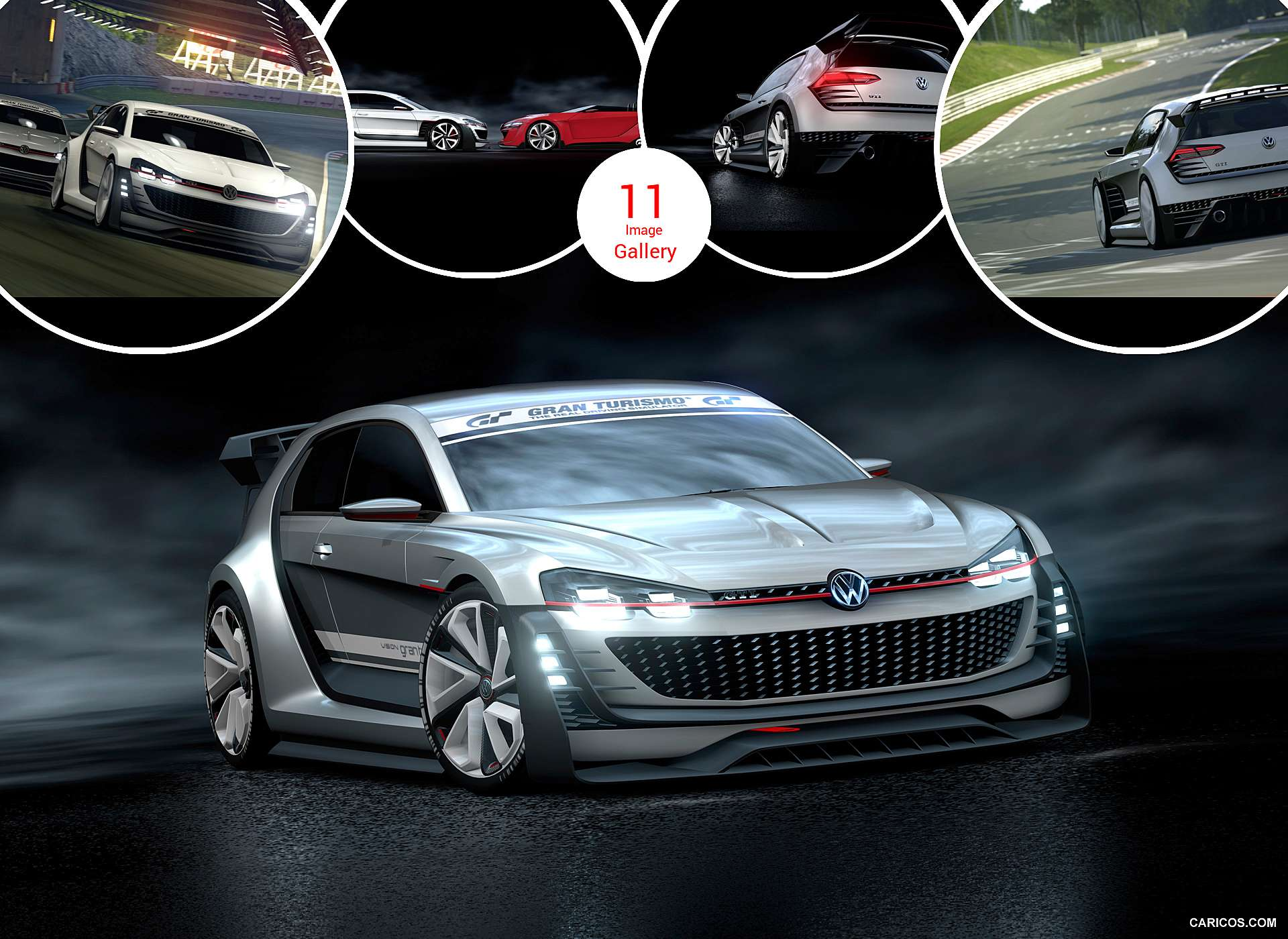 2015 VW GTI Supersport Vision Gran Turismo Concept