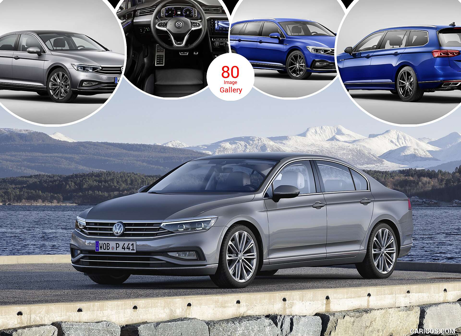 2020 Volkswagen Passat Sedan and Variant (EU-Spec)
