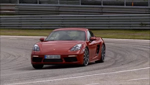 On Track: 2017 Porsche 718 Cayman S Carmine Red