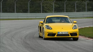 On Track: 2017 Porsche 718 Cayman S Racing Yellow