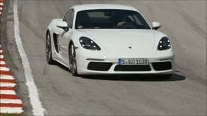On Track: 2017 Porsche 718 Cayman Carrera White