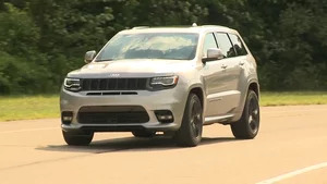 Overview: 2017 Jeep Grand Cherokee SRT