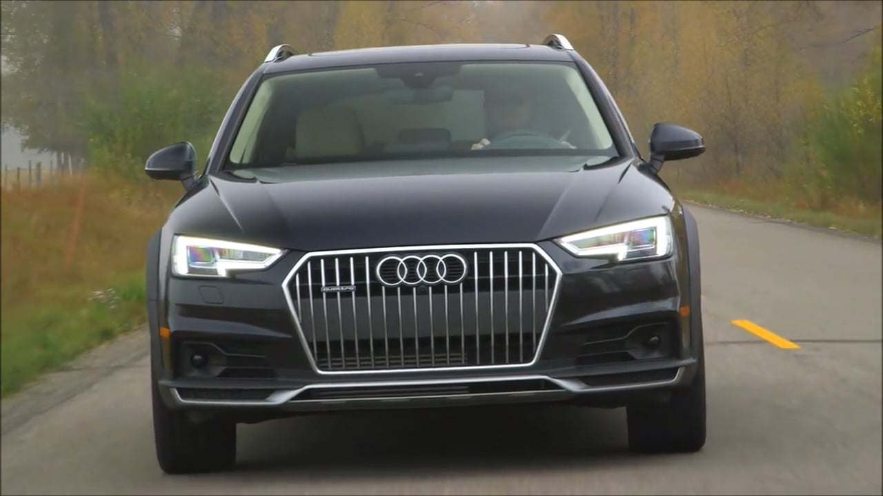 Overview: 2017 Audi A4 allroad (US-Spec)