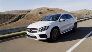 Driving: 2018 Mercedes-AMG GLA 45