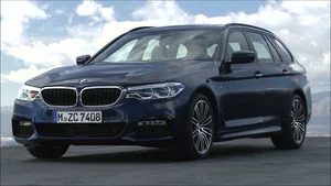 Exterior: 2018 BMW 5-Series Touring