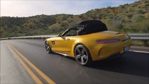 Overview: 2018 Mercedes?AMG GT C Roadster (Solarbeam)