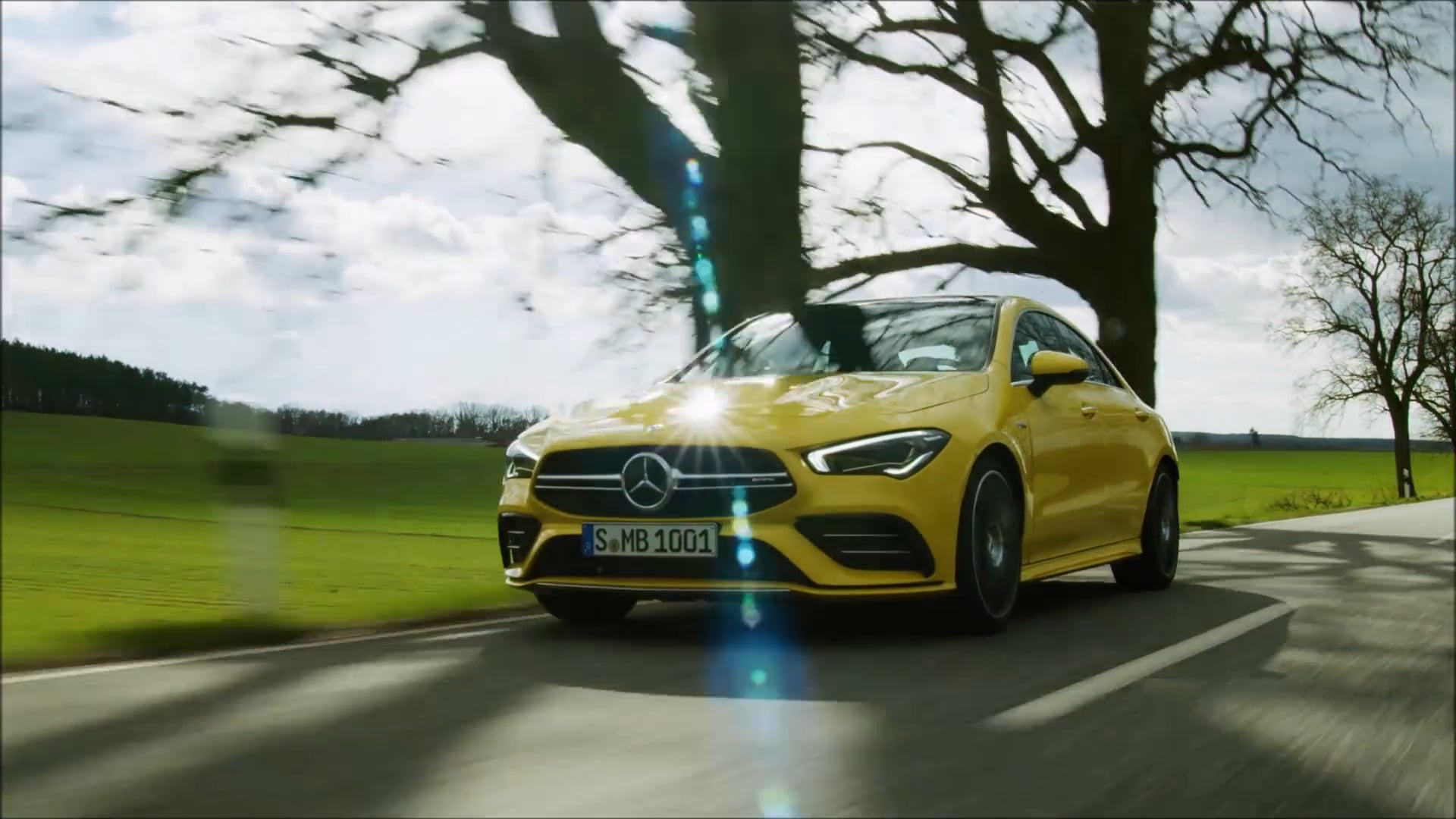 Overview: Mercedes-AMG CLA 35