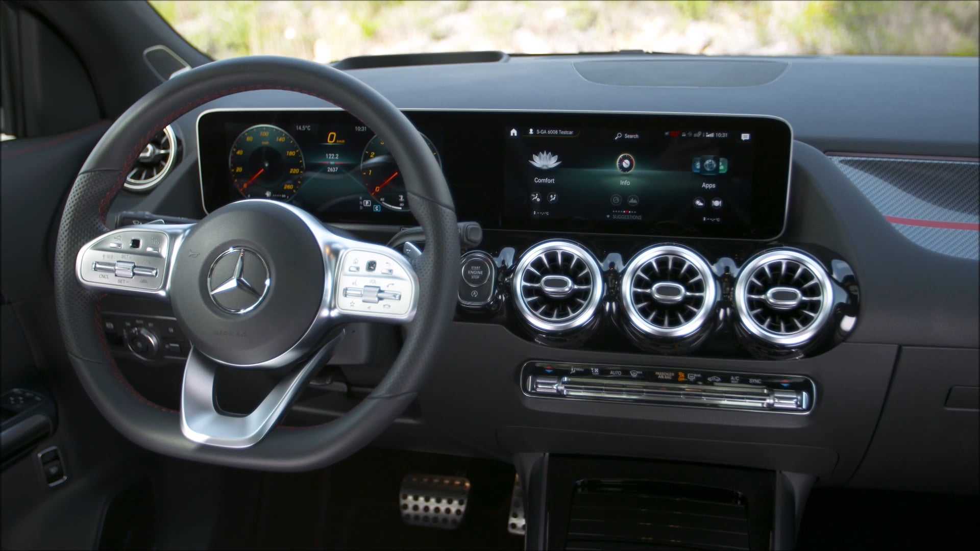 Overview: 2021 GLA 200 Edition 1 (Mountain Grey Magno)