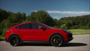 Overview: 2021 Cayenne GTS Coupe (Carmine Red)